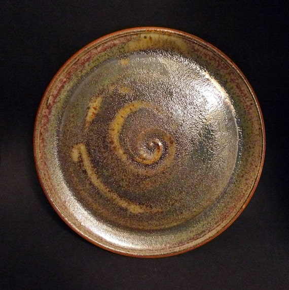 Copper Simi Metalic Platter