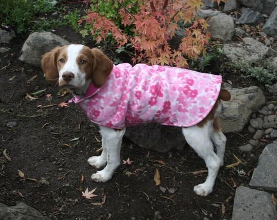 Reversible Pink Fleece Coat