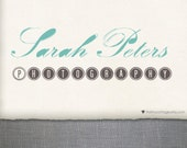 For Patsi - Premade Logo Design and Watermark - Vintage Me - (No.226)