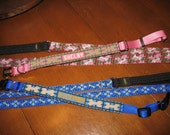 Needlepoint Dog Collar - Personalized