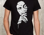 Bob Marley Graffiti - Screen Printed Men's T-Shirt