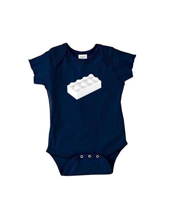 Lego - Navy Blue Baby Bodysuit