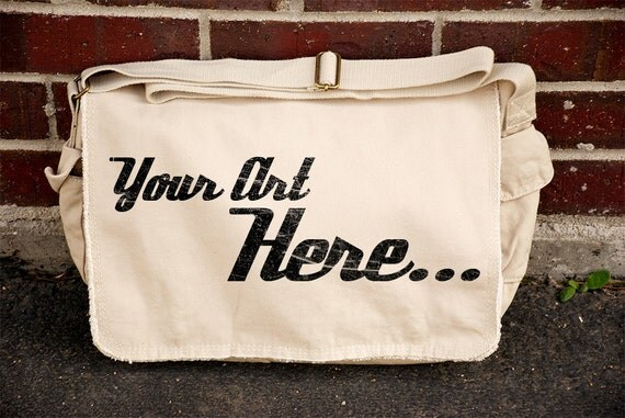 Custom Messenger Bag - Available in Khaki , Mocha, Khaki Green, Pink