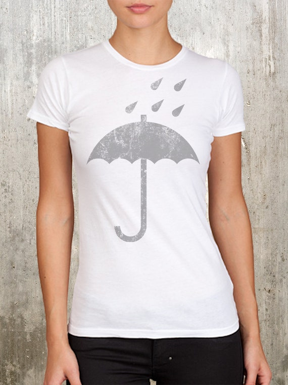 Umbrella and Rain Packaging Tee