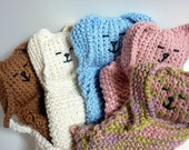 Bunny Buddy Baby  Blanket