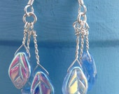 Enchanted Forest Fairy Leaf Earrings-- CUSTOM