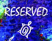 Reserved for BScruggs