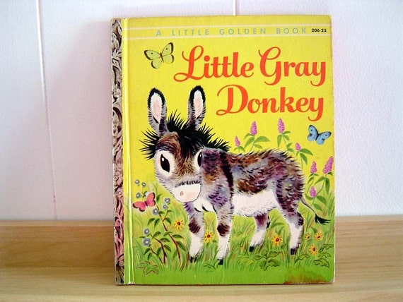 Little Golden Book / Little Gray Donkey 1954 A Edition