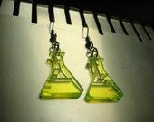 Beaker Acrylic Earrings