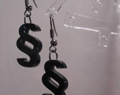 Writers Section Symbol Acrylic Earrings