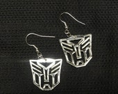 Transformer Inspired Autobot and / or Decepticon Acrylic Earrings