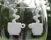 Cup of Joe Acrylic Earrings