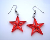 Nautical Stars Acrylic Earrings