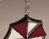 Resident Evil Umbrella Corporation Inspired Acrylic Earrings Tri Color