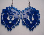 World of Warcraft - Alliance Lion Inspired Acrylic Earrings