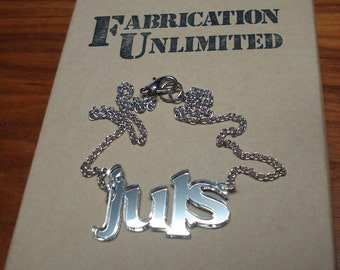 CUSTOM Name or Word Necklace up to 5 letters
