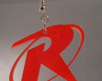 Robin Logo Inspired Earrings