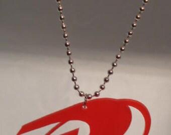 Robin Logo Inspired Necklace