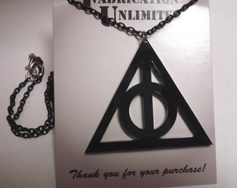 Harry Potter, Deathly Hallows Inspired Necklace