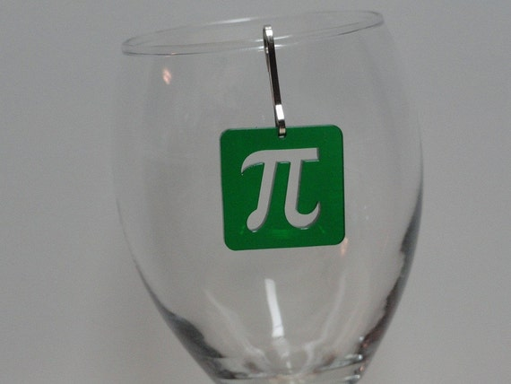 Pi Symbol Zipper Pull Charm