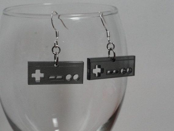 Game Controller Acrylic Earrings