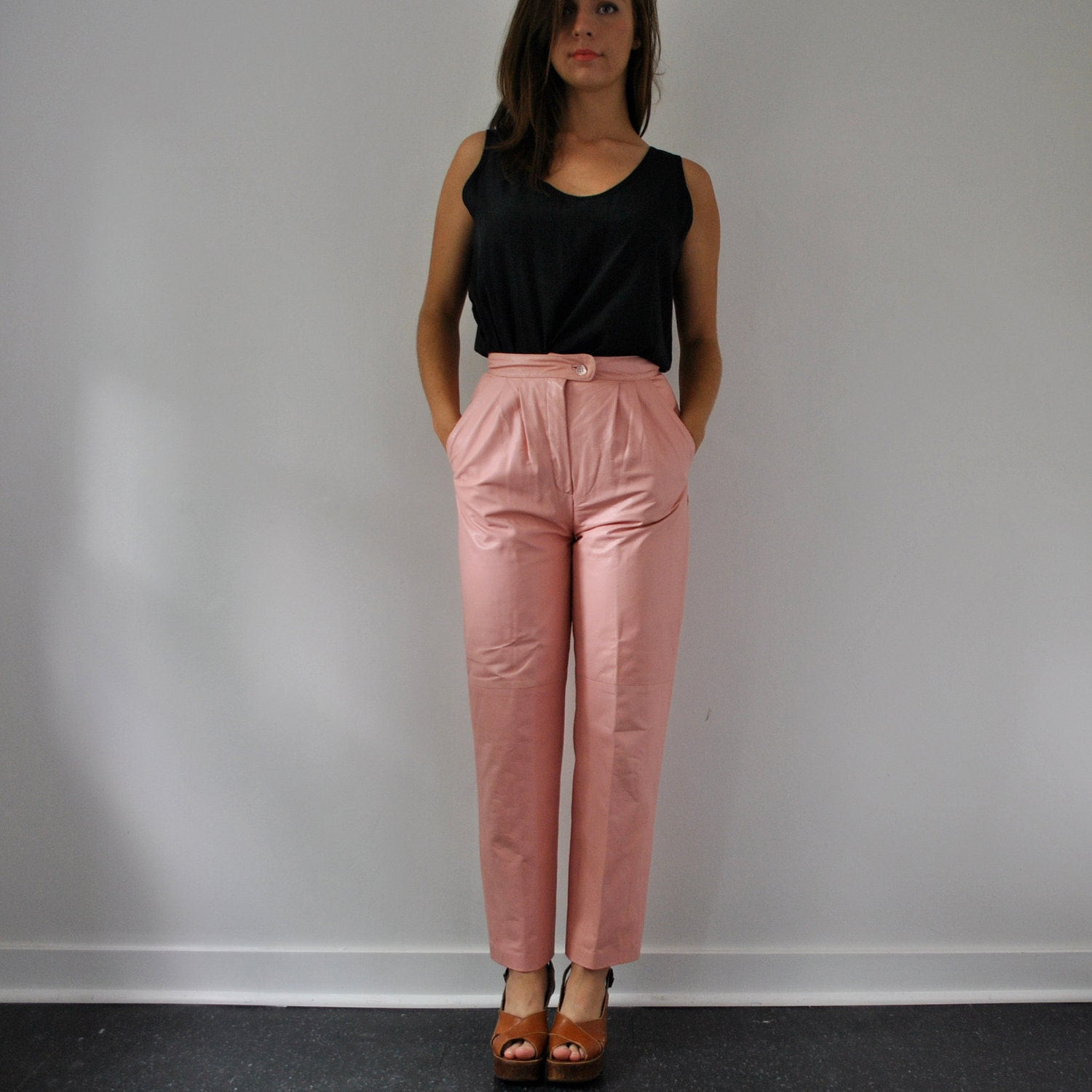 Find pink leather pants at ShopStyle. Shop the latest collection of pink leather pants from the most popular stores - all in one place.