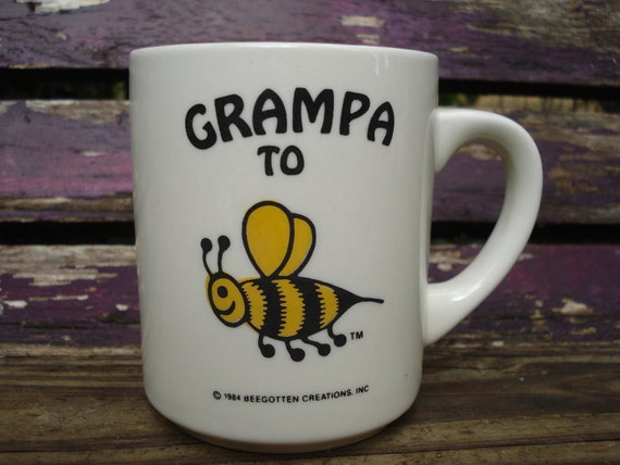 Vintage Grampa to BEE Coffee Mug