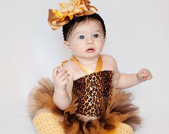 Hand Crochet Cheetah Leopard Baby and Toddler Young Girl Leg Warmers for Costume, Accessories, Baby Gift, Halloween