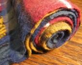 Vintage English plaid scarf