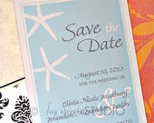 Reserved Listing for Nicole - Save the Date Magnets, Wedding Card, Starfish, 50-Count