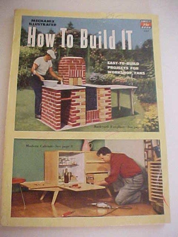 Mechanix Illustrated How to Build It 1951 Book  No.124