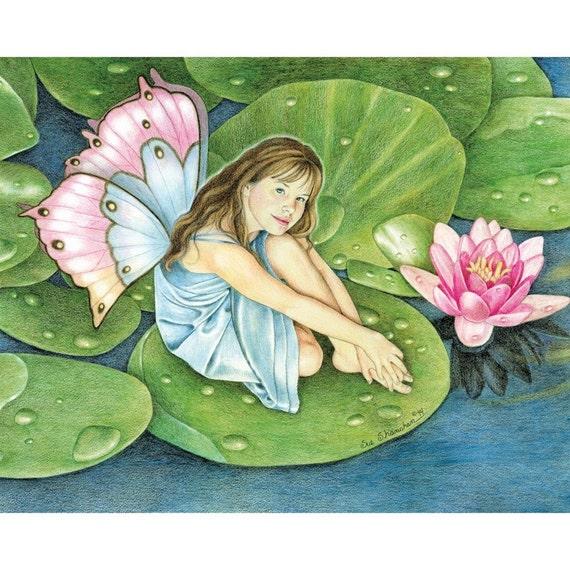 The Lily Pad  8x10 Print
