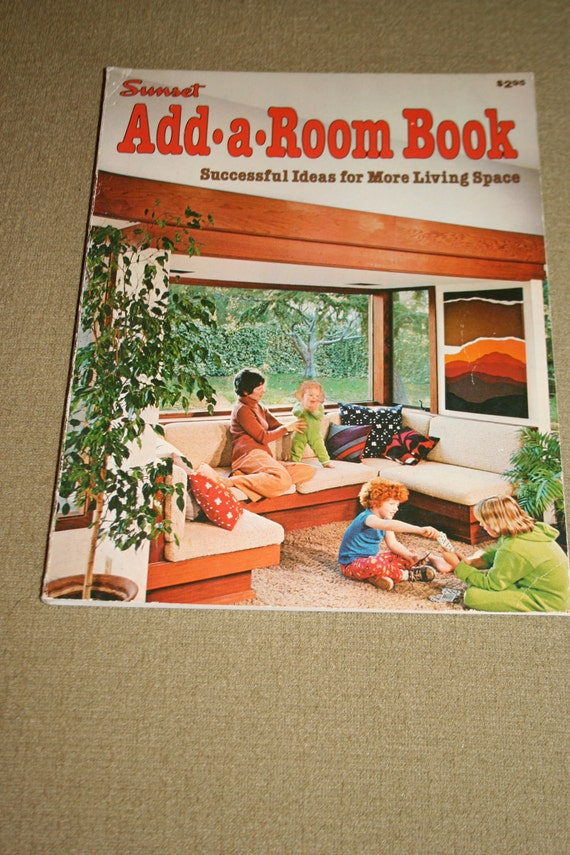 Sunset Book Add a Room vintage instructional how to 1970s decor