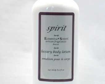 SPIRIT BODY LOTION - 250 ml/8.0 oz