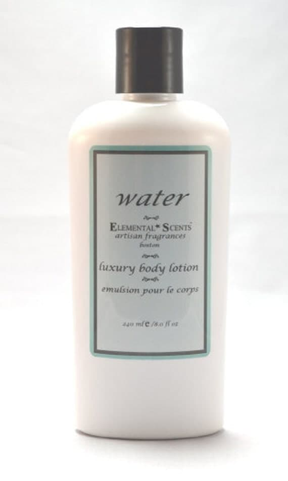 WATER BODY LOTION - 250 ml/8.0 oz - Editor's choice in DailyCandy.com's Weekend Guide