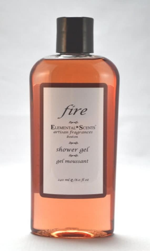 FIRE Shower & Bath Gel - 250 ml/8.0 oz
