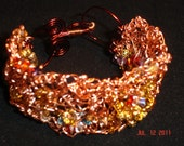 Copper Knotted Wire Bracelet
