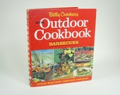 60s Betty Crocker Outdoor Cookbook BBQ Barbeque Picnic Spiral Bound