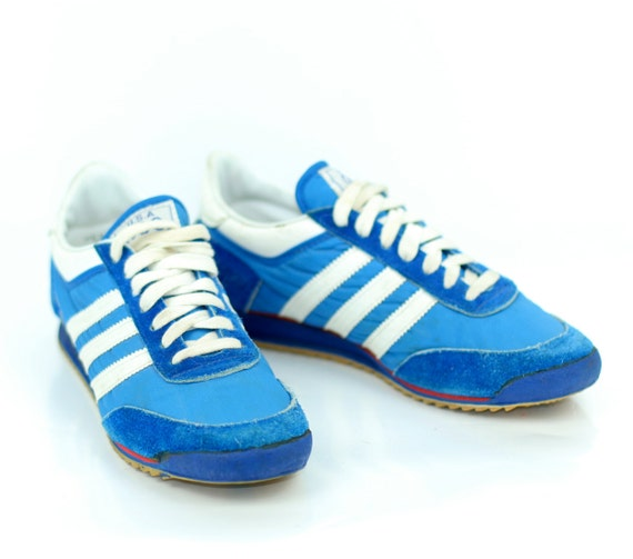 Vintage Sneakers 1976 Blue and White Olympic Issue by JC Penney Mens 7 and Half