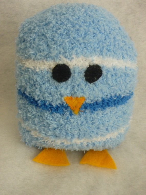 Easter Plush Baby Chick Eco Friendly Soft Plushie Boy