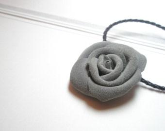 Leather rose bracelet -Flower Wrist Wrap Bracelet Corsage Necklace Boot Straps