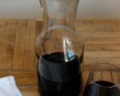 Vintage Wine Carafe, Glass Carafe