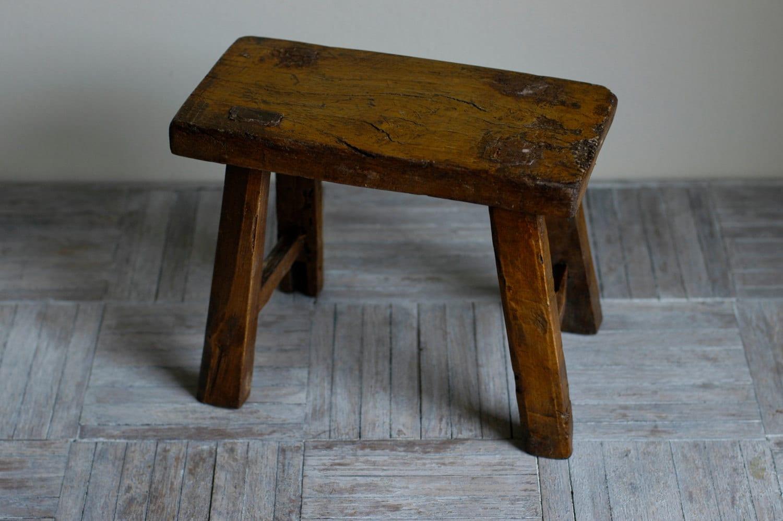 Old Wooden Stool ~ Old wooden milking stool cute movies teens