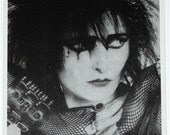 1980s SIOUXSIE Sioux UK Postcard