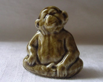 Vintage English Ceramic Monkey