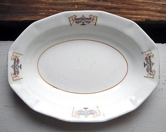 1920s French China Co. Porcelain Dish