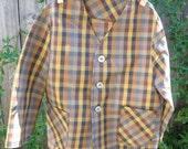 Dapper Dan vintage plaid dinner jacket, vintage sz. 4, modern 3