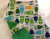 Urban Zoologie Owls - A delightful reversible apron that will please any child...