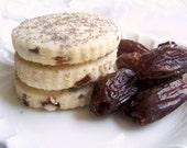 Date Walnut Shortbread Cookies 1 Dozen