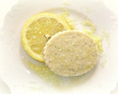 Fresh Summer Treat - Lemon Poppy Seed Shortbread Cookies 1 Dozen